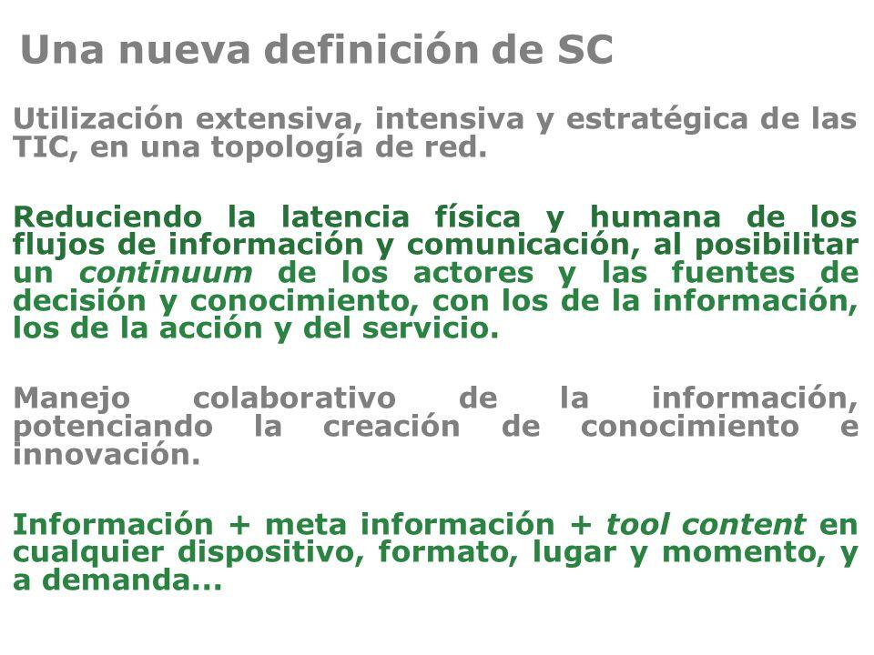 Una nueva definición de SC