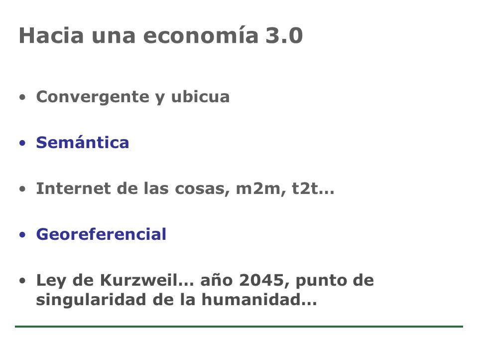 Hacia una economía 3.0 Convergente y ubicua Semántica