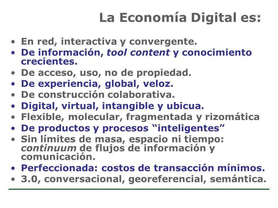 La Economía Digital es: