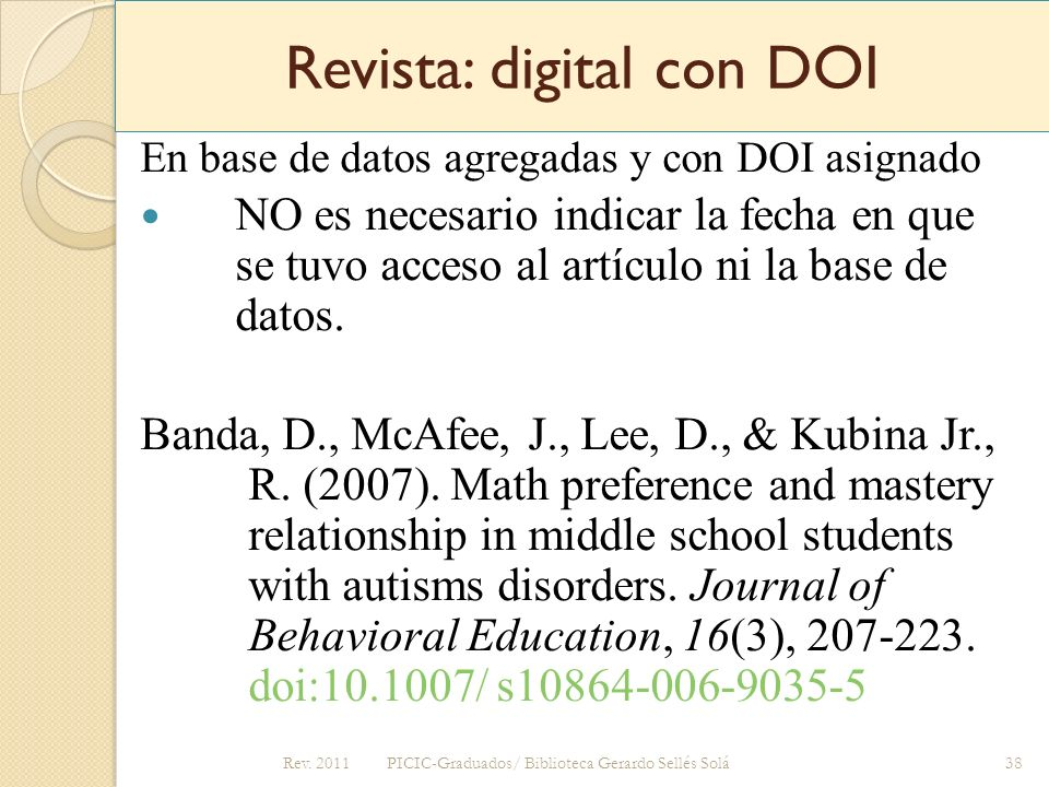 Revista: digital con DOI