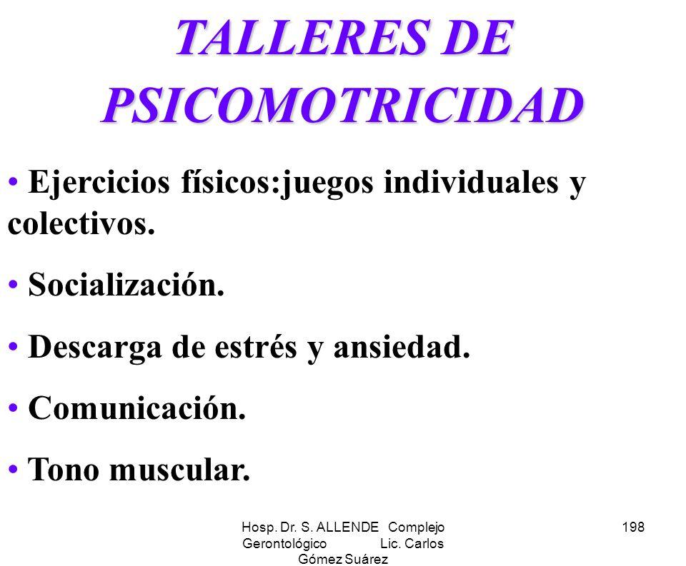 TALLERES DE PSICOMOTRICIDAD