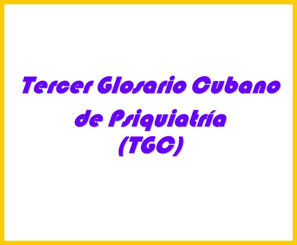 Tercer Glosario Cubano