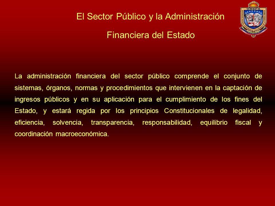 El Sector Público y la Administración