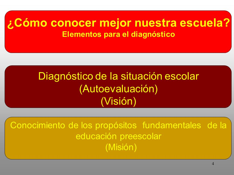 Elementos para el diagnóstico
