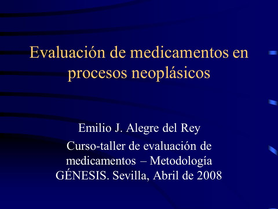 Evaluación de medicamentos en procesos neoplásicos