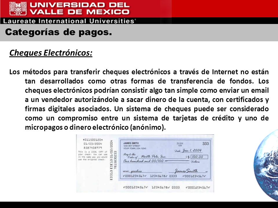 Cheques Electrónicos: