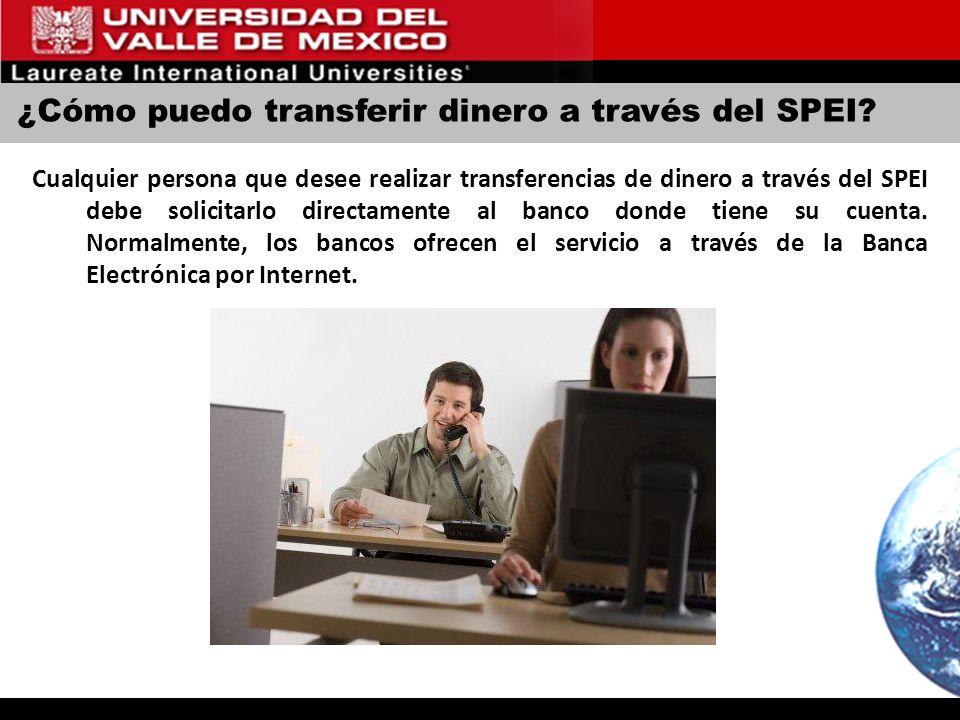 ¿Cómo puedo transferir dinero a través del SPEI