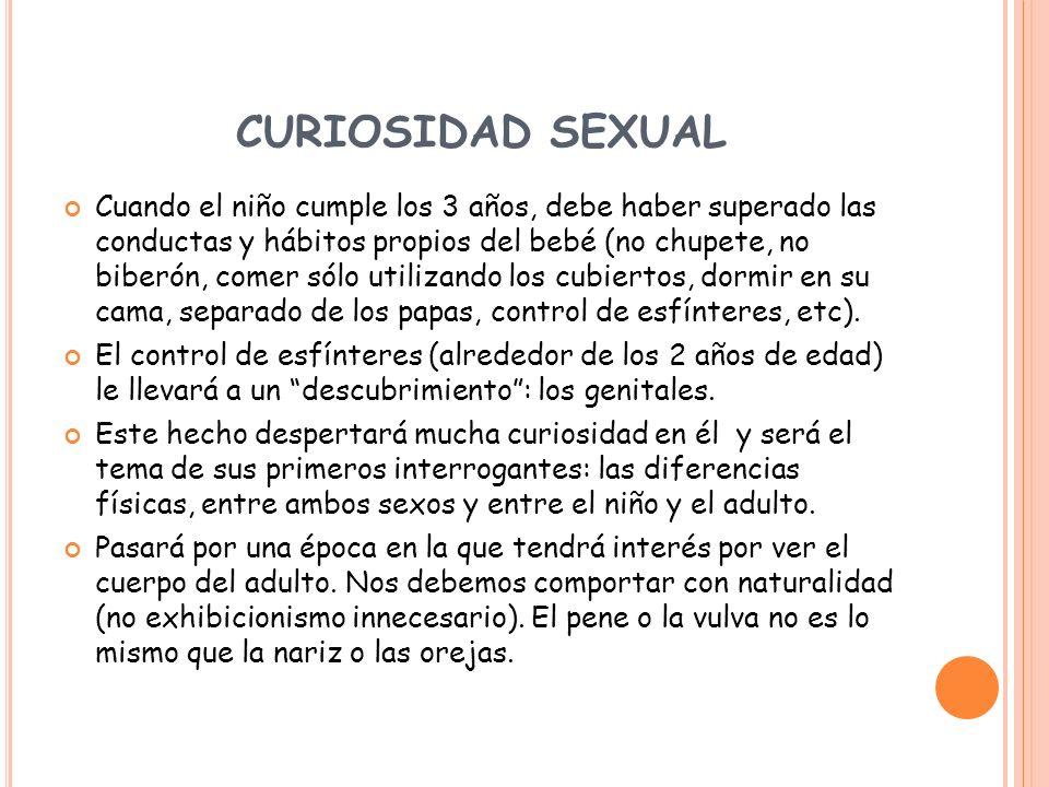 CURIOSIDAD SEXUAL