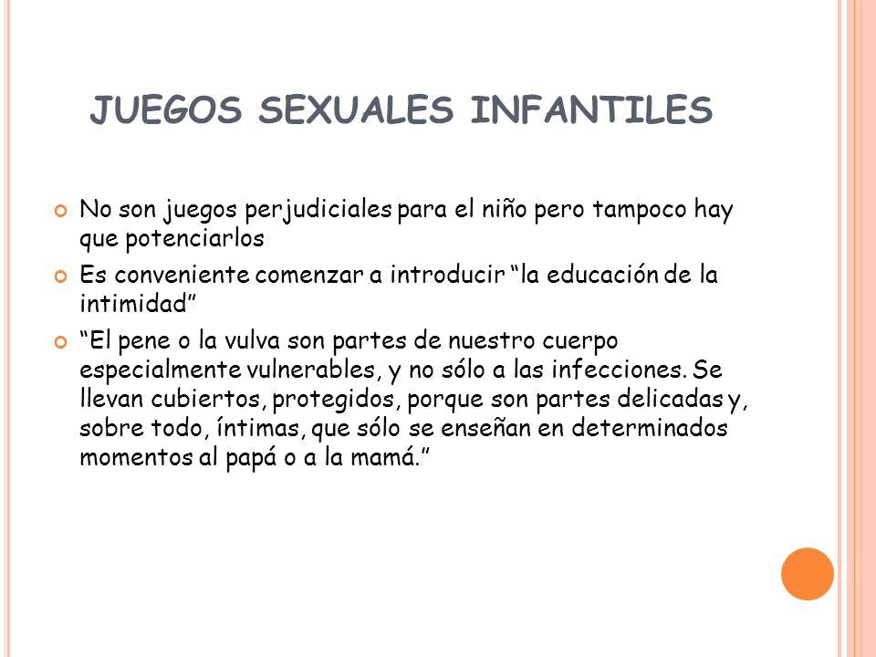 JUEGOS SEXUALES INFANTILES
