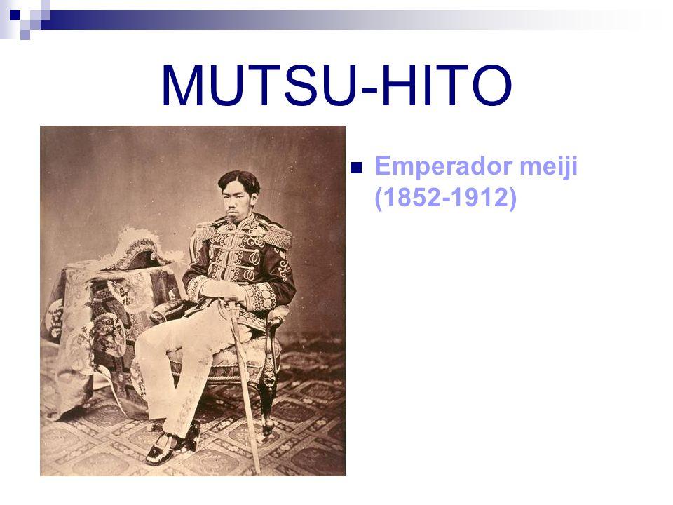 MUTSU-HITO Emperador meiji (1852-1912)