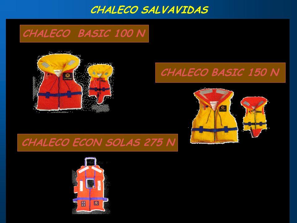 CHALECO DE FLOTABILIDAD PERMANENTE