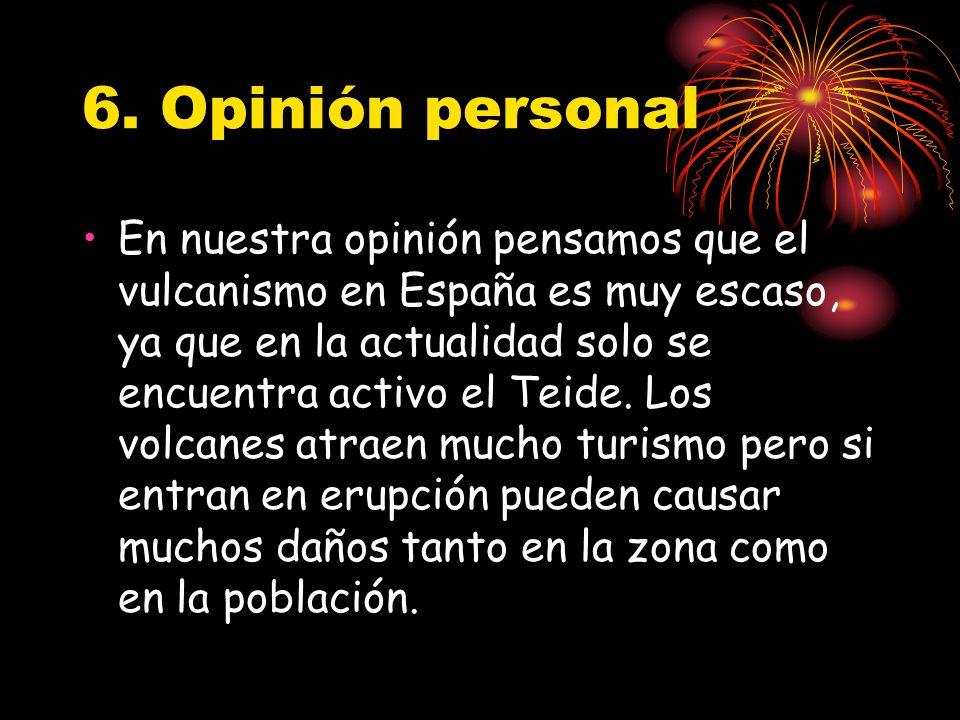 6. Opinión personal