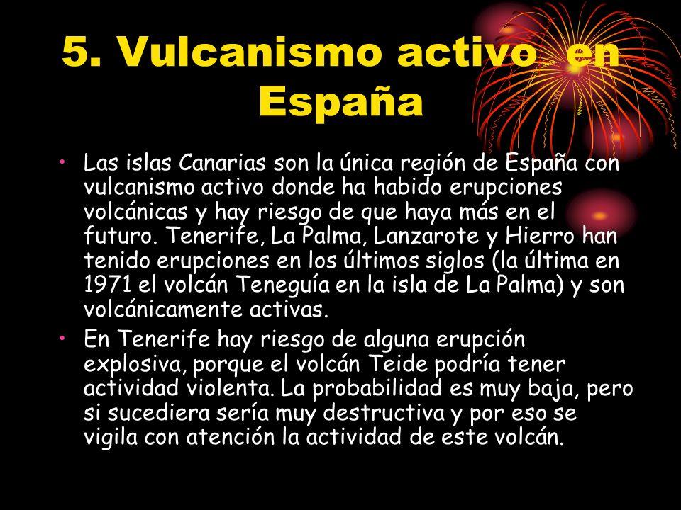5. Vulcanismo activo en España