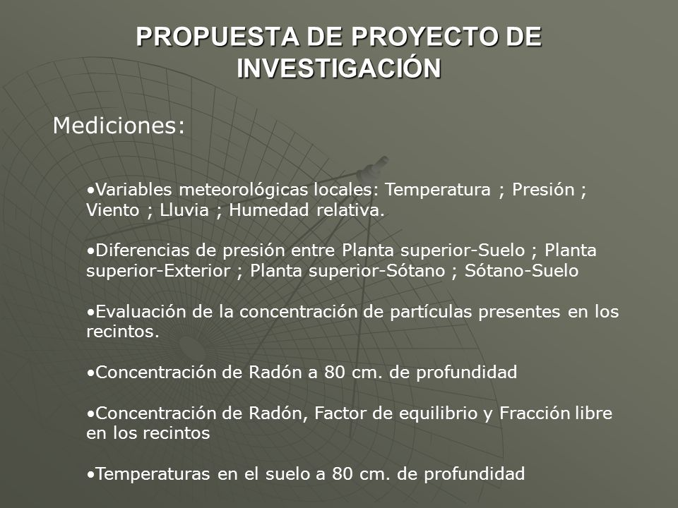 PROPUESTA DE PROYECTO DE INVESTIGACIÓN