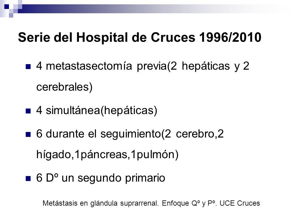 Serie del Hospital de Cruces 1996/2010