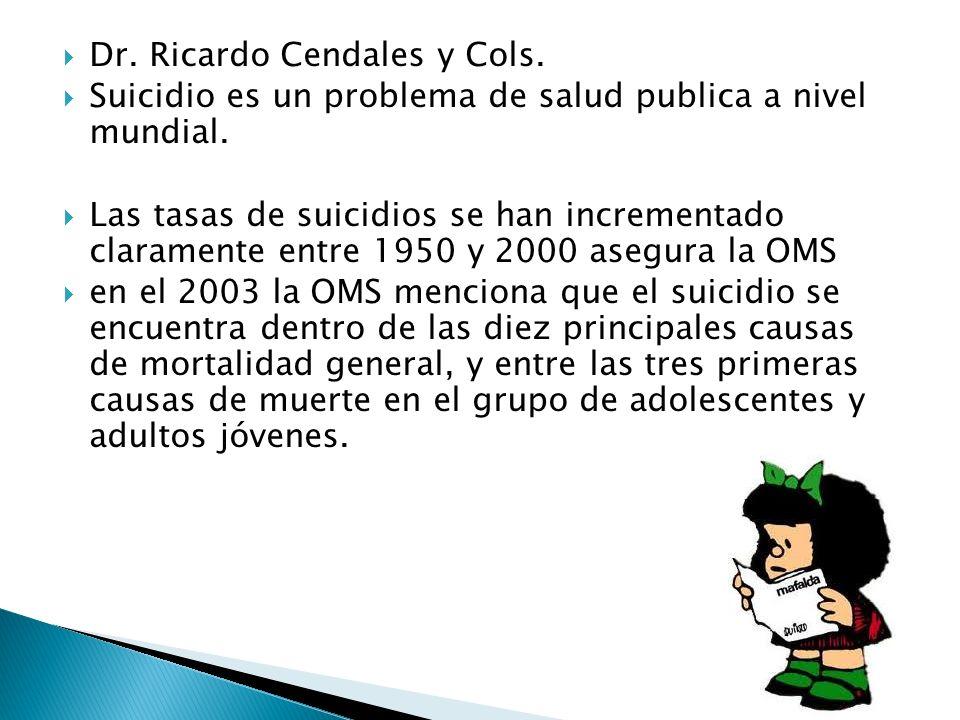 Dr. Ricardo Cendales y Cols.