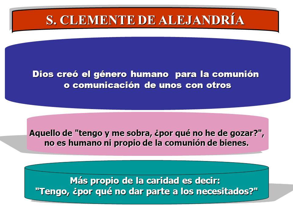 S. CLEMENTE DE ALEJANDRÍA