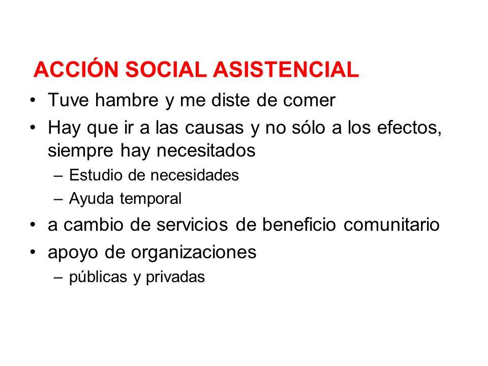 ACCIÓN SOCIAL ASISTENCIAL