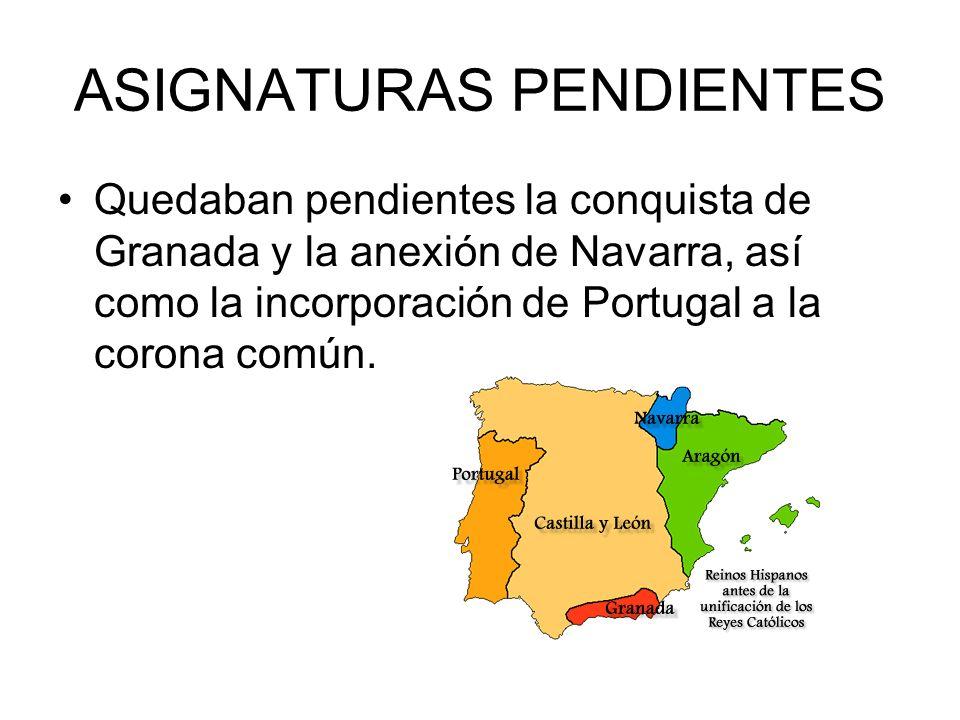 ASIGNATURAS PENDIENTES