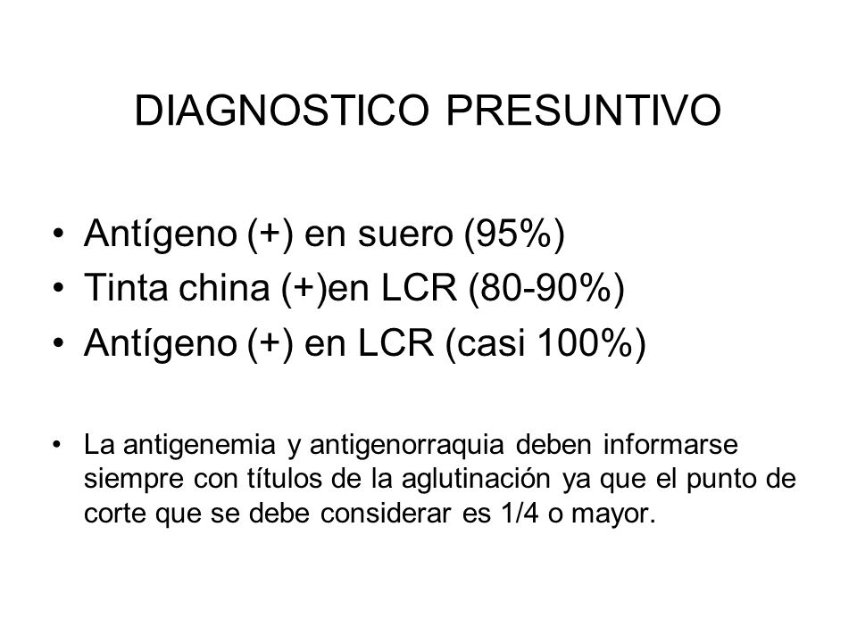 DIAGNOSTICO PRESUNTIVO