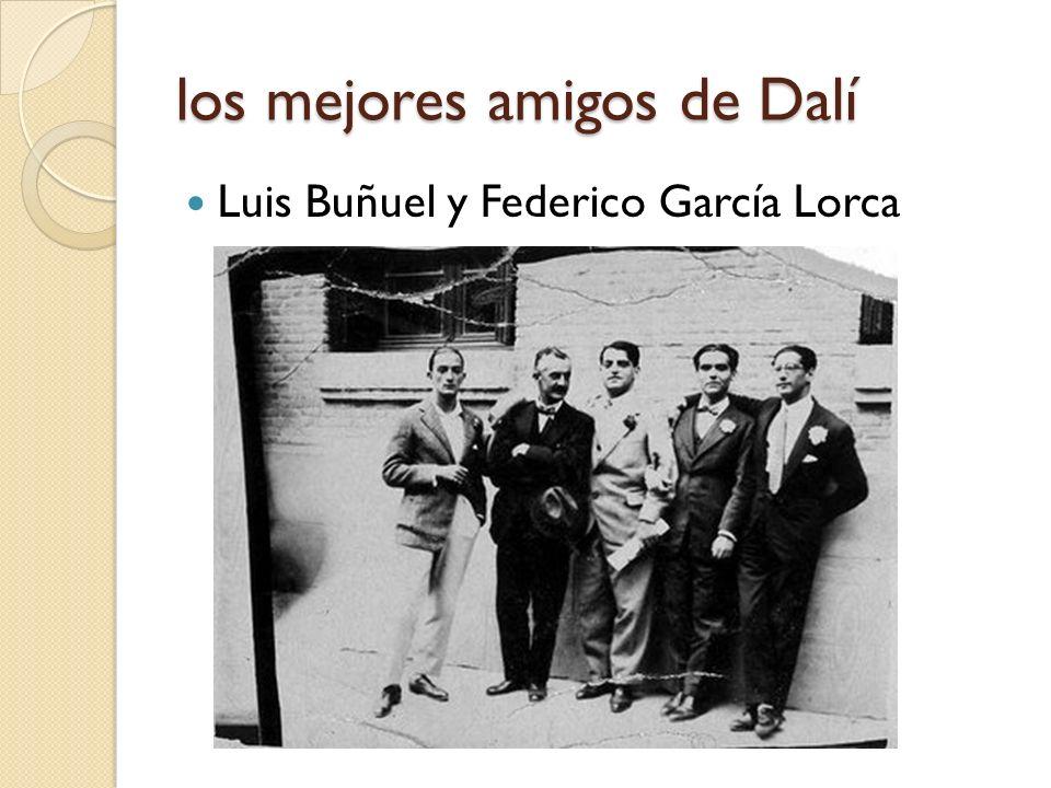 los mejores amigos de Dalí