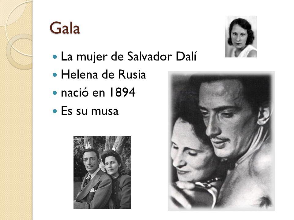 Gala La mujer de Salvador Dalí Helena de Rusia nació en 1894