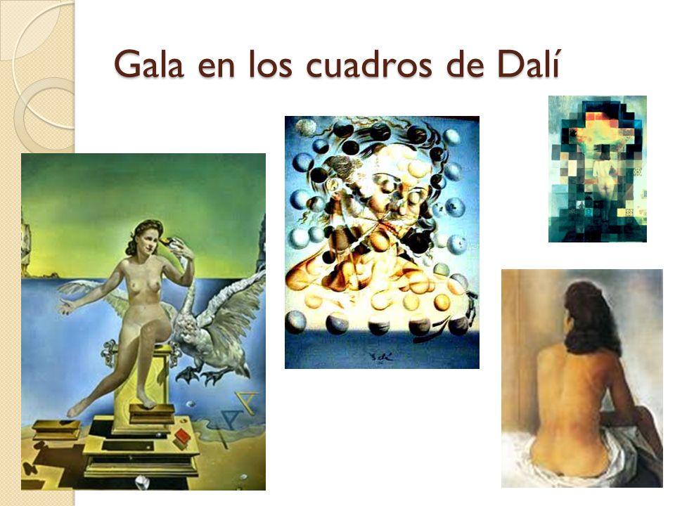 Gala en los cuadros de Dalí