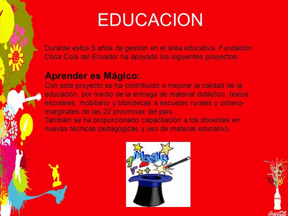 EDUCACION Aprender es Mágico: