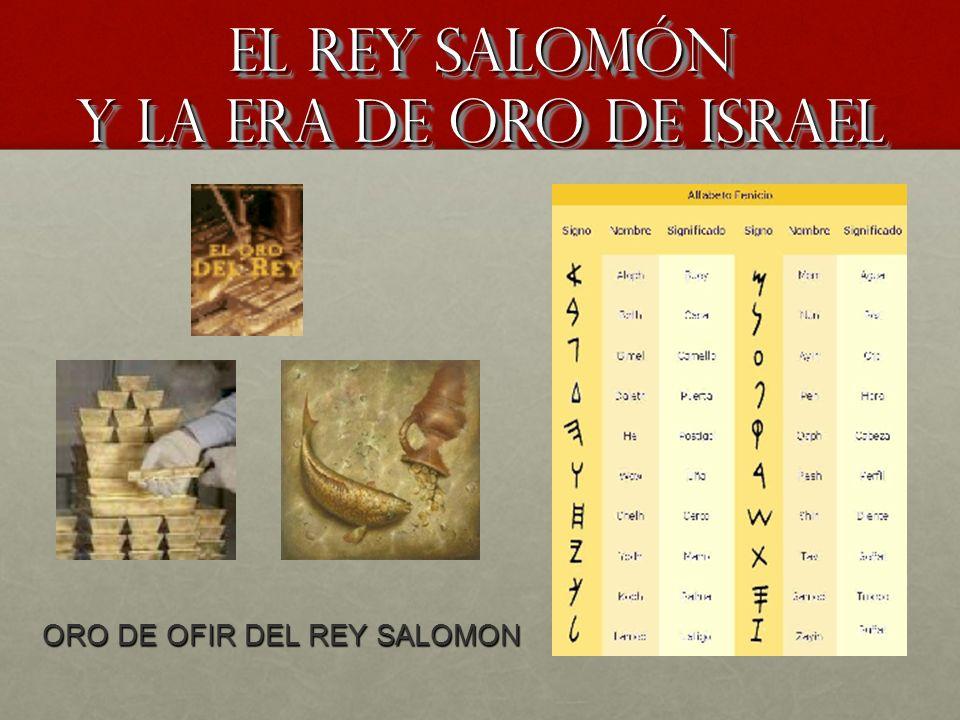 El rey Salomón y la era de oro de Israel