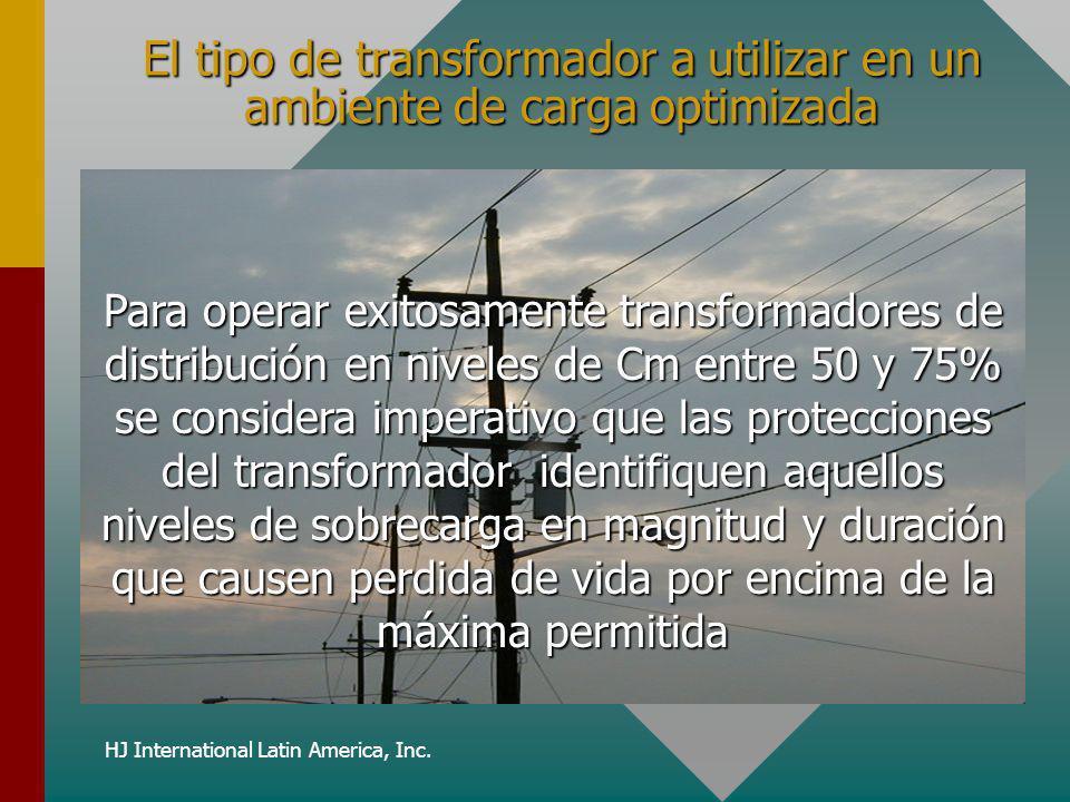 El tipo de transformador a utilizar en un ambiente de carga optimizada