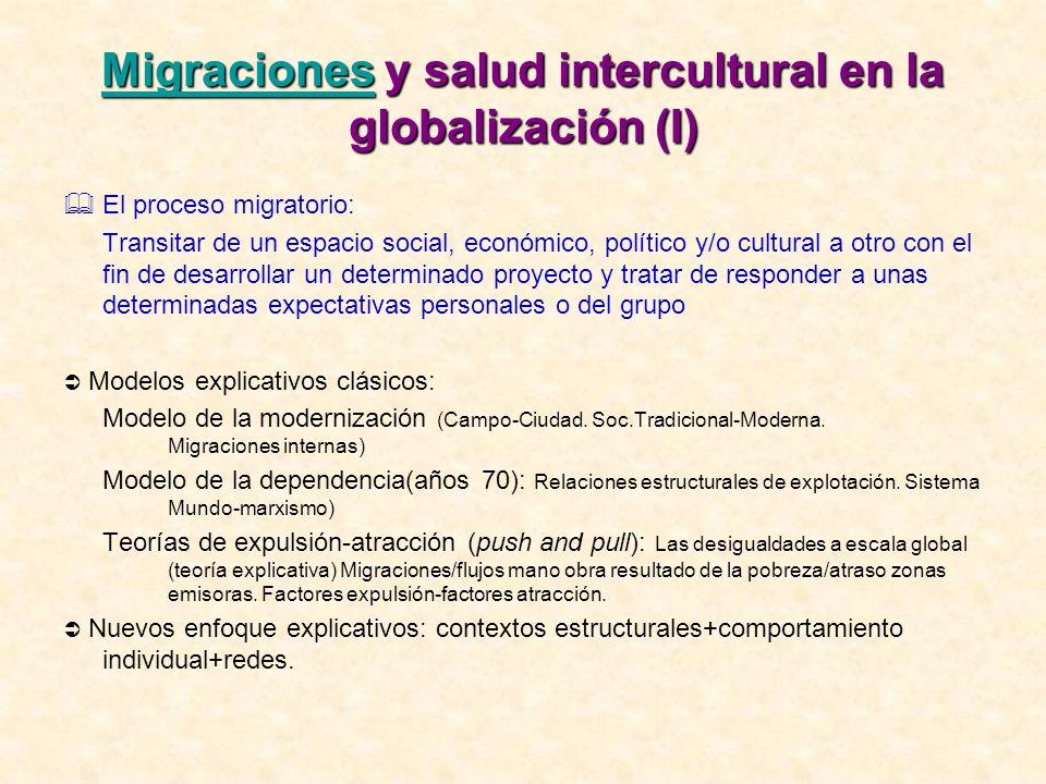 Migraciones y salud intercultural en la globalización (I)