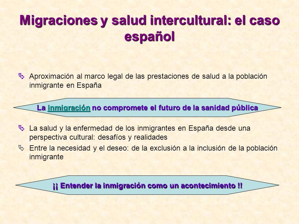 Migraciones y salud intercultural: el caso español