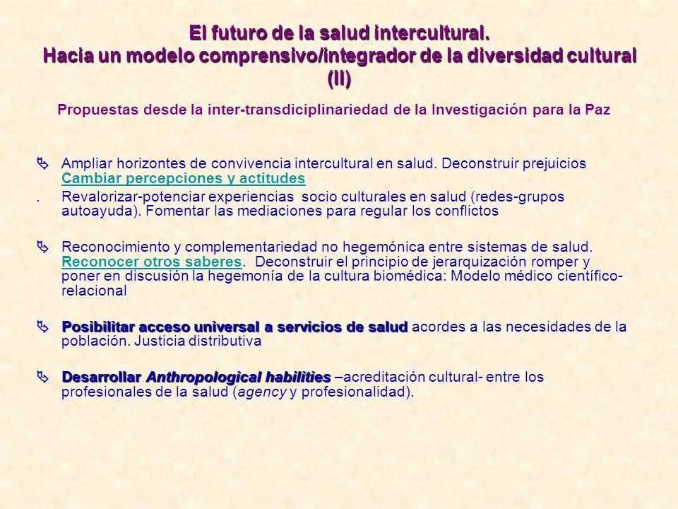 El futuro de la salud intercultural