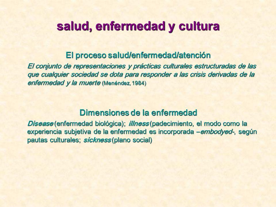 salud, enfermedad y cultura