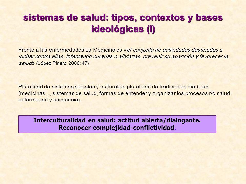 sistemas de salud: tipos, contextos y bases ideológicas (I)