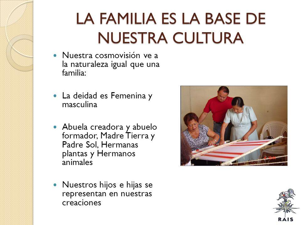 LA FAMILIA ES LA BASE DE NUESTRA CULTURA