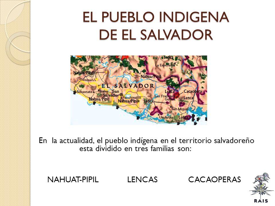 EL PUEBLO INDIGENA DE EL SALVADOR