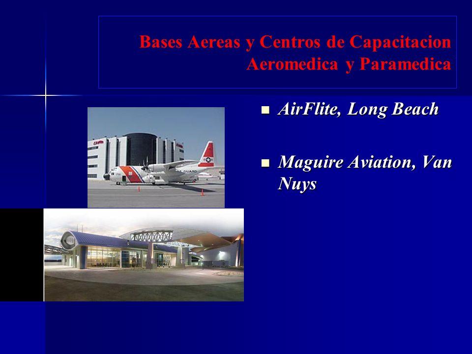 Bases Aereas y Centros de Capacitacion Aeromedica y Paramedica