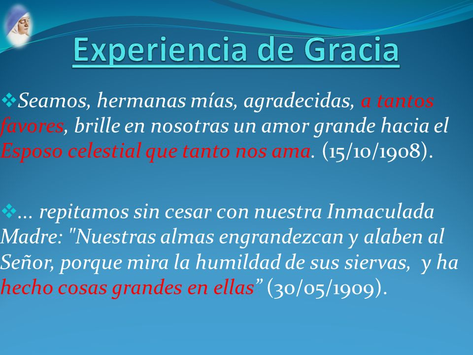 Experiencia de Gracia