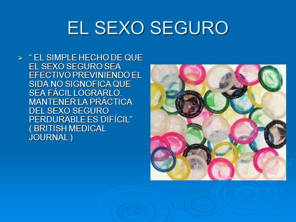 EL SEXO SEGURO