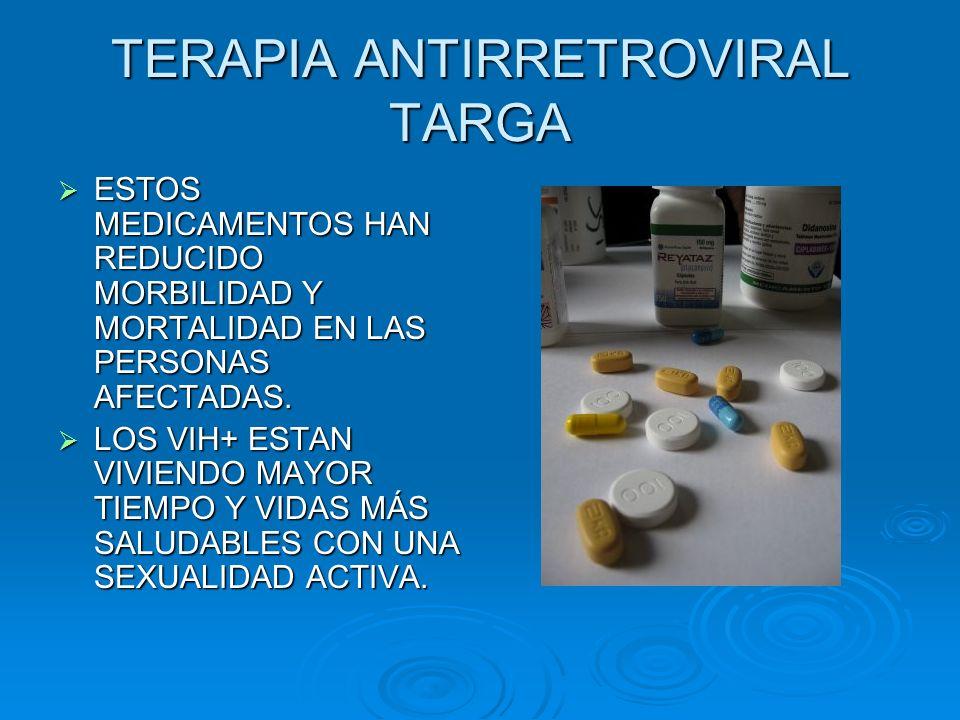 TERAPIA ANTIRRETROVIRAL TARGA
