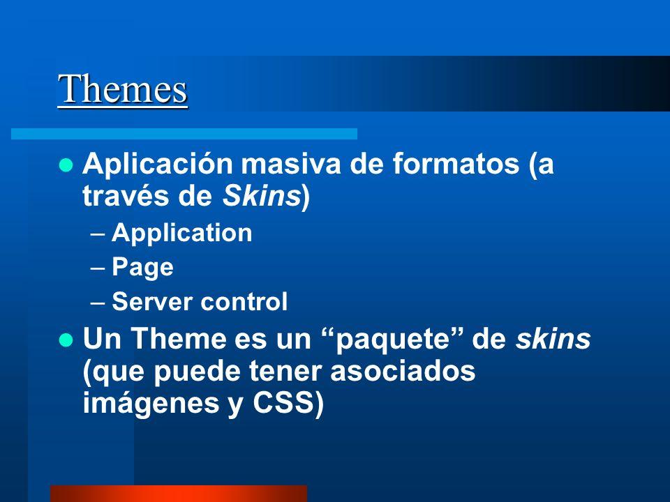 Themes Aplicación masiva de formatos (a través de Skins)