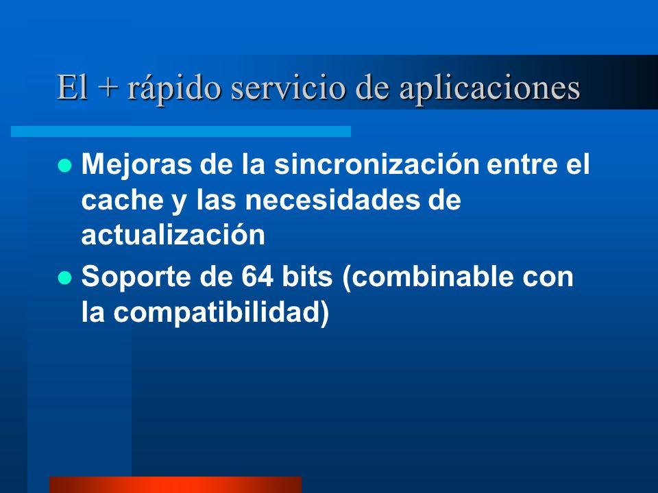 El + rápido servicio de aplicaciones