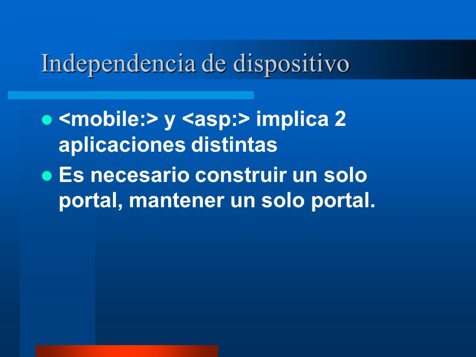 Independencia de dispositivo