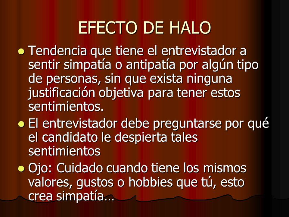 EFECTO DE HALO