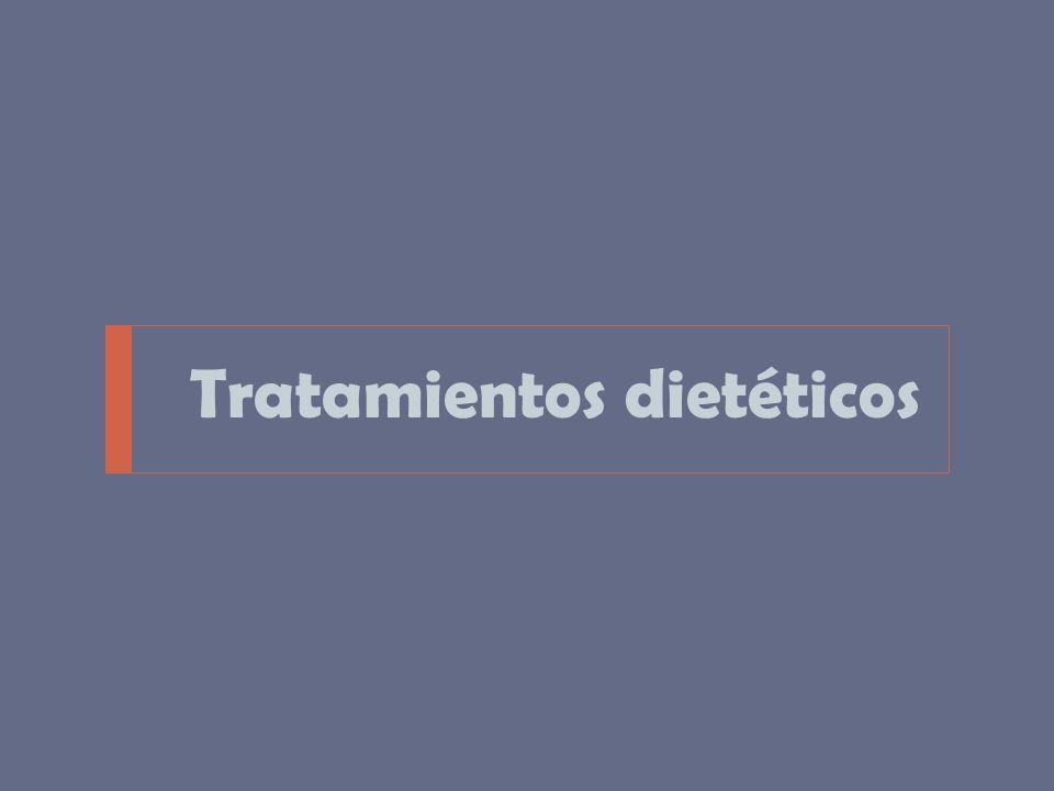 Tratamientos dietéticos