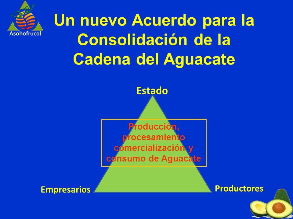 Un nuevo Acuerdo para la Consolidación de la Cadena del Aguacate