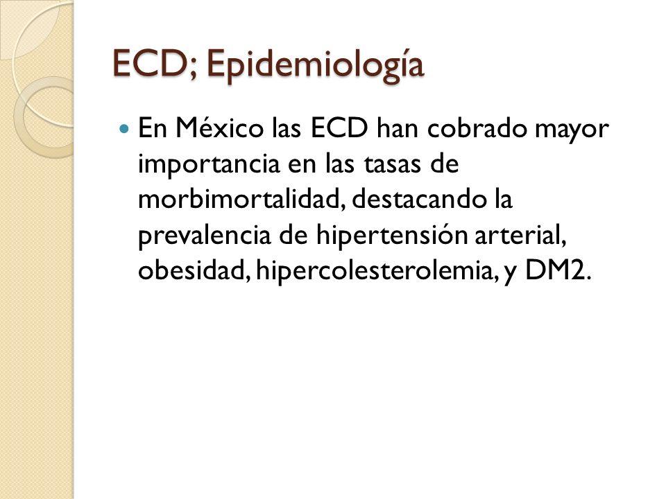 ECD; Epidemiología