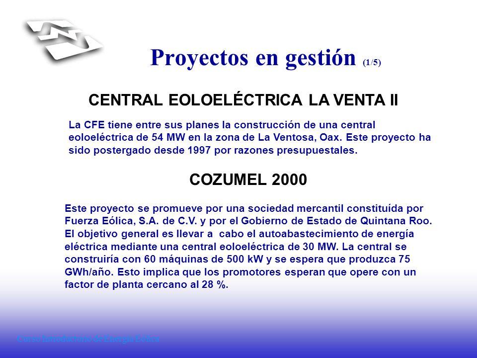 Proyectos en gestión (1/5)