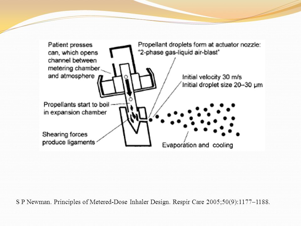 S P Newman. Principles of Metered-Dose Inhaler Design